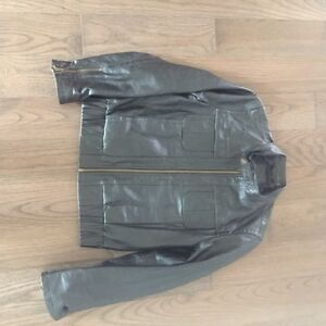 Women's size small leather jacket