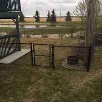 Chain link fencing. Book now or email for estimate.