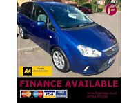 Ford CMax Zetec Climate 1.6 - 3 YEAR Warranty & AA Cover FREE - 2 Owners - New NO Advisory MOT