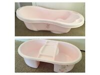 Baby bath & top and tail bowl set