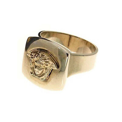 Versace Medusa ring Silver Woman Authentic Used (Versace Womens Rings)