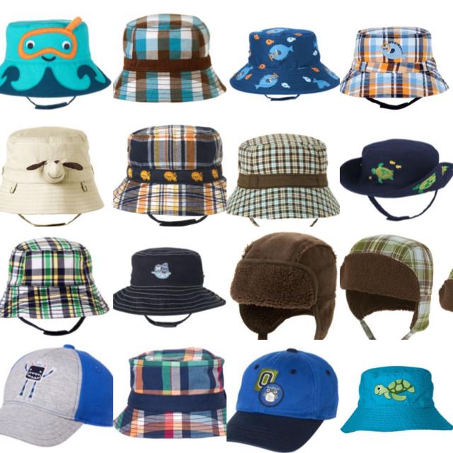 EUC//NWOT boys gymboree pageboy baseball cap sun bucket hat beanie 3 6 12 18 mo