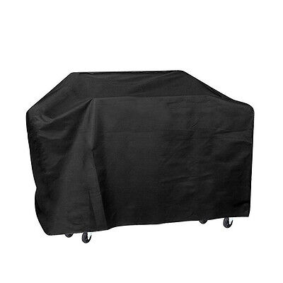 """57"""" Waterproof BBQ Cover Gas Barbecue Grill Protection Heavy Duty Outdoor Black"""