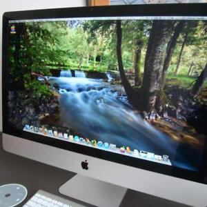 iMac 27 Quad Core Processor 3.4 i7 8GB 1TB Hard Drive CS6