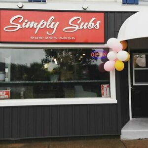 Sub Shop For Sale in Chippawa