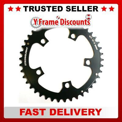 Stronglight 5-Arm/110mm Alloy Chainring: 42T Black