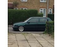 Vw Golf Mk3 converted to a 2.8 VR6
