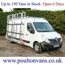 2016 (66) RENAULT MASTER LM35 BUSINESS + L3 H2 LWB MEDIUM ROOF GLASS RACK,Medium