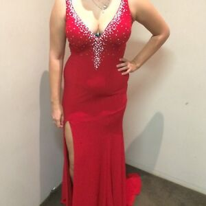Red ball gown Midvale Mundaring Area Preview