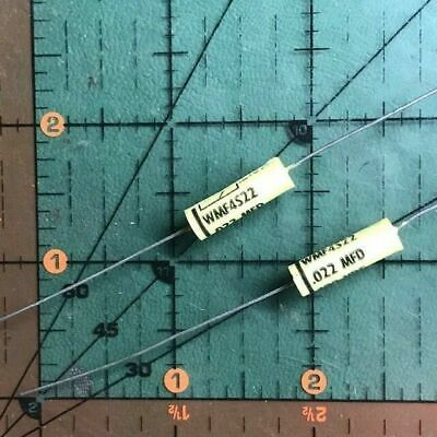 Cornell Dubilier Film Axial Capacitor .022uf 400v Wmf4s22k 10 Audio Tube 10pc
