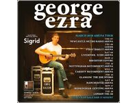 2x George Ezra standing tickets, Motorpoint Arena Nottingham, Tuesday 12th March 2019
