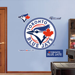 Toronto Blue Jays Fathead Logo Wall Sticker Removeable Reuseable Kitchener / Waterloo Kitchener Area image 2