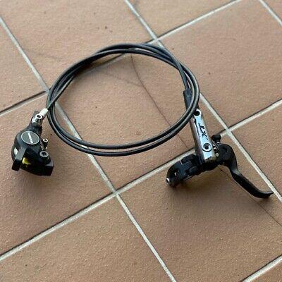 Shimano BR-BL-MT400 Front /& Rear Hydraulic Disc Brake Set  Black 100//170cm NIB