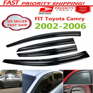 Toyota 2002-2006 Camry Side Window Visor Shade Wind Rain Guard