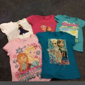 Frozen size 6/7/8 shirts