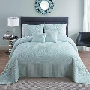 VCNY HILLTOP 5-PIECE QUEEN BEDSPREAD SET