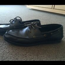 mens shoes black leather ( boat shoes ) Melbourne CBD Melbourne City Preview