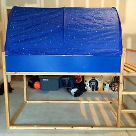Only Ikea tent for Kura bed