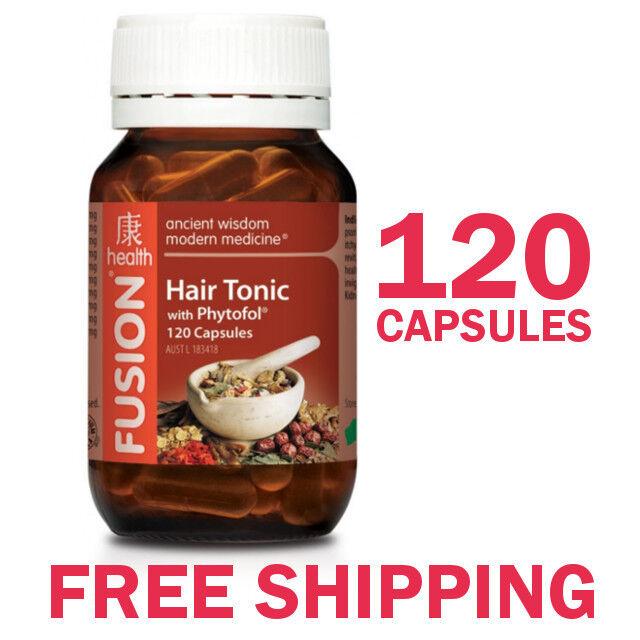 Fusion Health Hair Tonic 120 Capsules - Fusion Hair Tonic