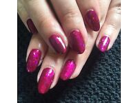 CND Shellac Nails in Edinburgh - Lots of Glitters, Colours and Designs! Edinburgh City Centre Based