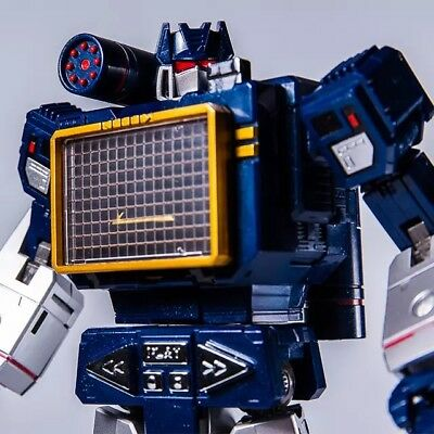 Transformers MP-13 Soundwave Masterpiece THF-01J Sonic Wave USA NEW!