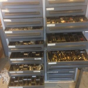 Heavy Duty Storage Drawers- Filled with misc. pneumatic