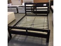 5' king size wooden bed frame by Silent Night with FREE local delivery