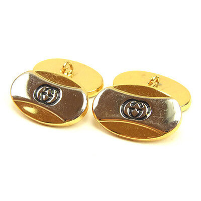 GUCCI Cufflinks Interlocking G Men