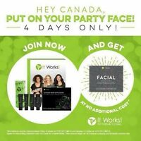 It Works huge weekend offer! Only on until thanksgiving monday!
