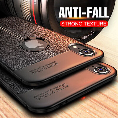 For iPhone 11 Pro X XS Max XR 8 7 Plus 6 Back Case Soft Ultra Thin Leather Cover