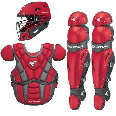 Easton Prowess womens fastpitch softball catchers gear red intermediate (13-15).
