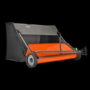 "NEW 50"" Husqvarna Tow Behind Lawn Sweeper"