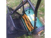 A Hand Push Lawn Mower £10