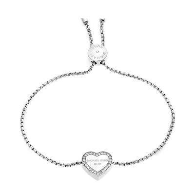 Michael Kors MKJ5390040 Armband Silber Herz Glassteine *NEU* 20% Rabatt