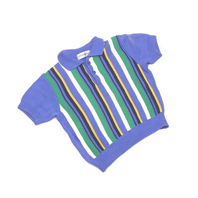 Saint Laurent Polo shirt Blue Green Woman Authentic Used G945