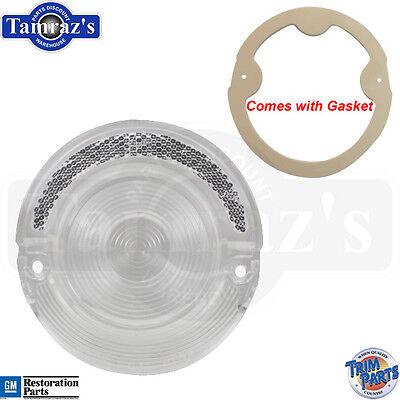 64 Impala Reverse Backup or Tail Light Lamp CLEAR Lens w/Gasket Custom Look USA (Backup Light Lens Gasket)