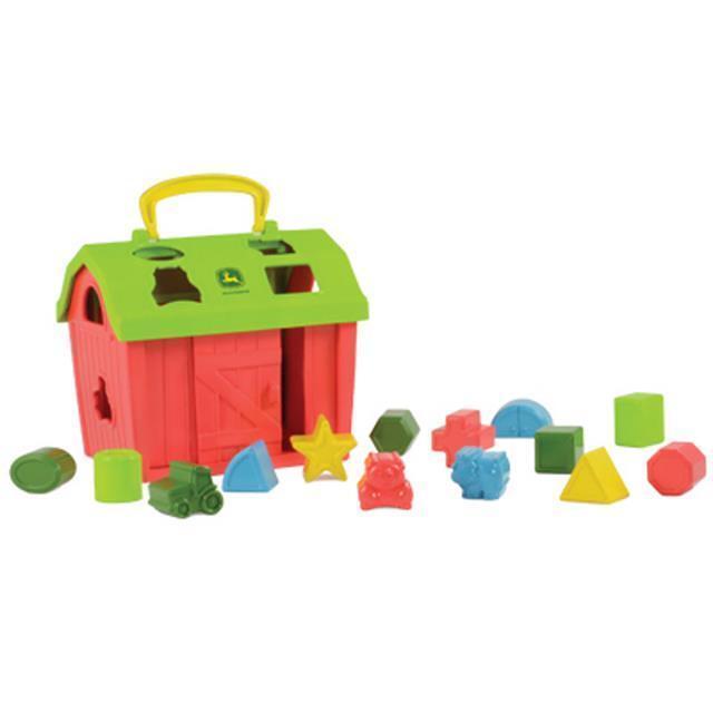 John Deere Barnyard Shape Sorter Toy - TBEK46313
