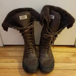 Barely used Ugg Adirondack Tall Boots size 10