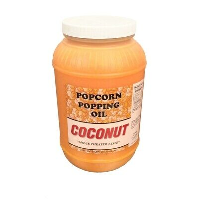 Colored Coconut Oil Movie Theater Taste Popcorn Popping Oil 76 Degree Meltpoint