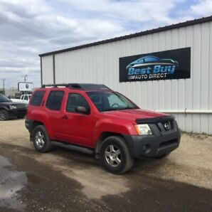 2008 Nissan Xterra 4X4 with Remote Start and 6 MTH WARRANTY