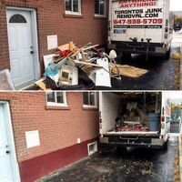 JUNK REMOVAL, FREE QUOTE, CALL US TODAY!!!
