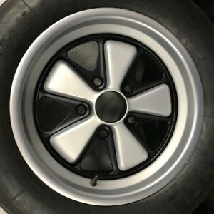 Porsche 911 Fuchs restored wheels 15x7 early date coded