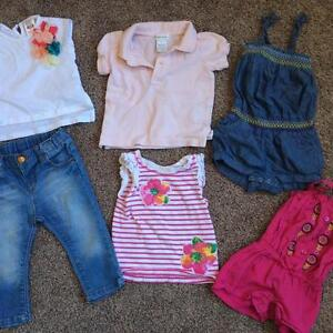 Lot of 6-9 months girls Clothing