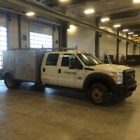 F-450 truck set up for welder/contractor