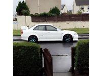 Rare 51 plate ralliart Mitsubishi evo 6
