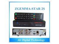 Zgemma Star 2S - Linux receiver for sale  Derbyshire