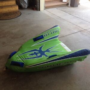 Airhead attack towable boat tube, like new