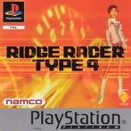 Ridge Racer Type 4 (platinum) (PlayStation 1)