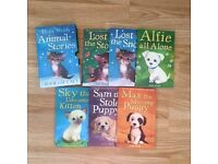 6 x Holly Webb Puppy and Kitten Childrens Books Including 3 Book Gift Set