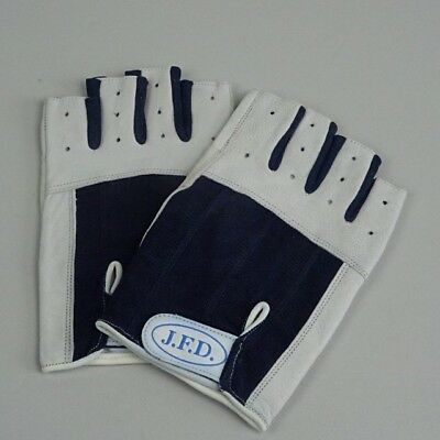 XL neu 1 Paar Segelhandschuhe Leder Handschuhe 5 Finger frei  Gr S